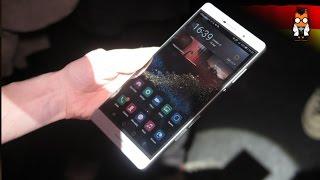 Huawei P8 Max Hands-On - 6,8 Zoll Smartphone [DEUTSCH]