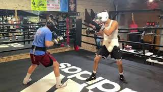 Sparring at RGBA - Esnews boxing