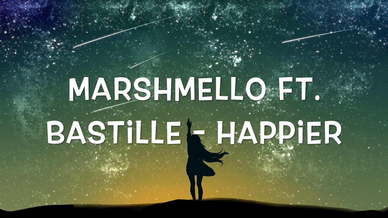 Marshmello, Bastille - Happier (1 Hour) image