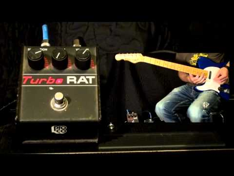 ProCo Turbo Rat Distortion Pedal