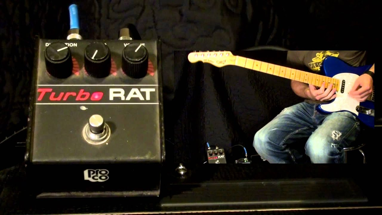 proco turbo rat distortion pedal youtube. Black Bedroom Furniture Sets. Home Design Ideas