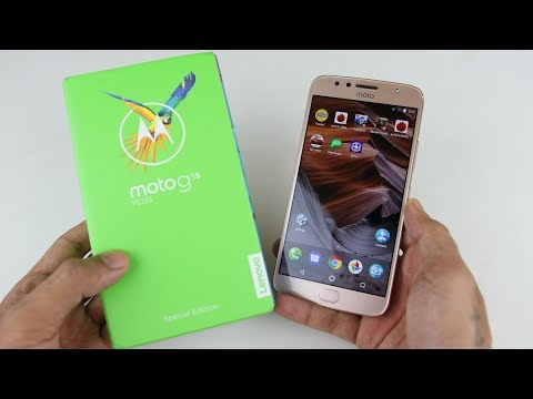 Moto G5S Plus Unboxing - Special Edition