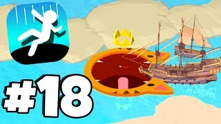 *NEW* Pirates Island Map NEW HIGHSCORE! - Hole.io Gameplay Part 18 WORLDS BIGGEST UPDATE!