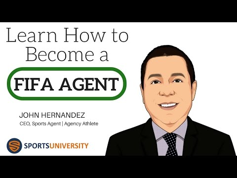 Learn How To Become A FIFA Soccer Agent