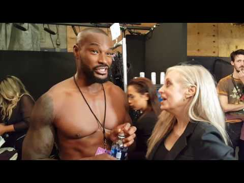 Fashion Week Online's Eila Mell Interviews Tyson Beckford During NYFW
