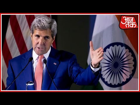 John Kerry Cracks Joke On Water Logging In Delhi