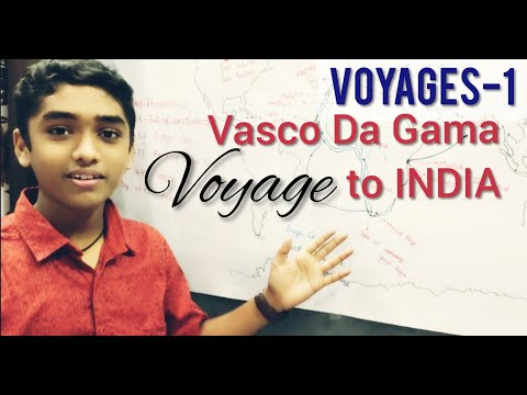 Voyages: Vasco Da Gama To India For All Competitive Exams