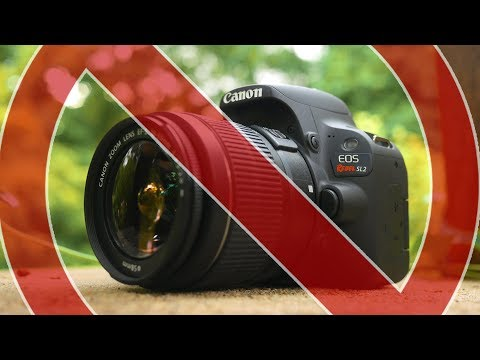 Watch This Before You Buy A Canon SL2/200D!!