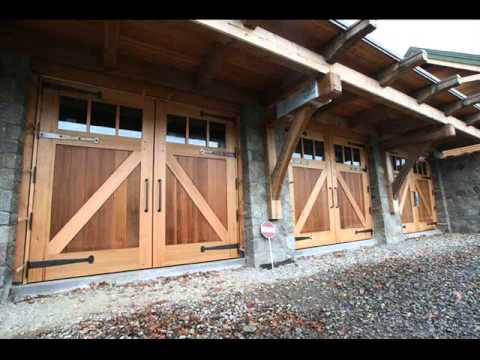 garage door stylesTimber Modern Garage Door  Garage Door Styles  YouTube