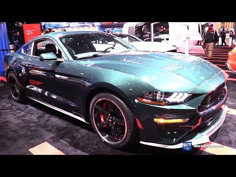 Ford Mustang Bullitt - Exterior and Interior Walkaround -  LA Auto Show