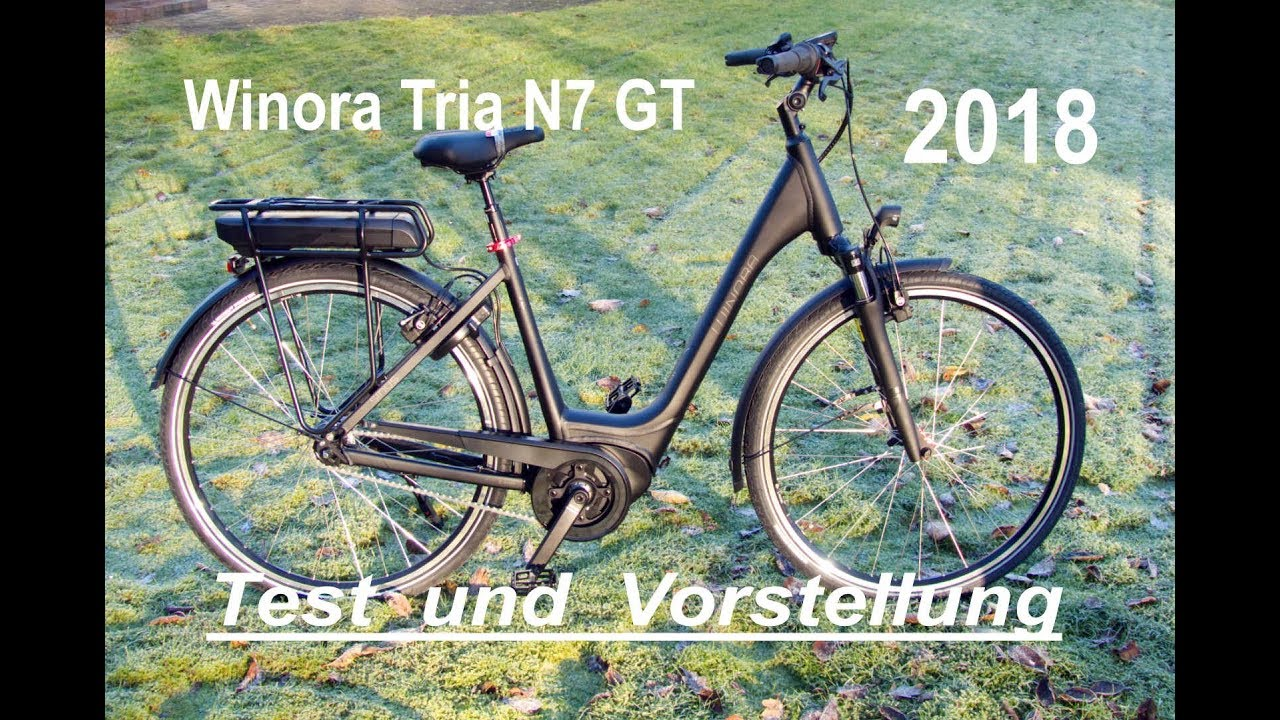 winora sinus tria n7 gt e bike 2018 bosch active plus test. Black Bedroom Furniture Sets. Home Design Ideas