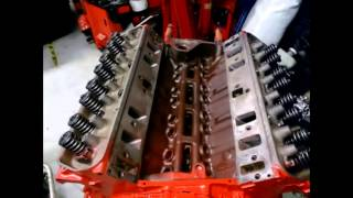 1972 Holden HQ 308 engine makeup colourful