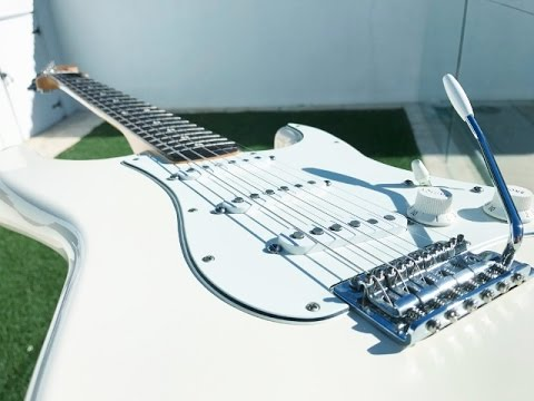 Fender Standard Stratocaster Tex Mex Pickups Demo Pickup Position