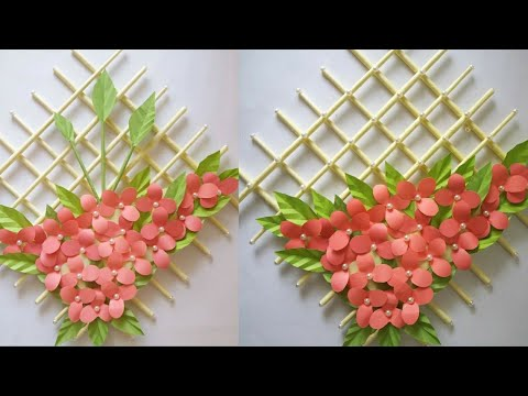 Wall Hanging with Paper / paper craft wall mate 2019/কাগজের ওয়ালমেট #5
