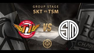 12.05.2017 SKT Vs TSM MS  2017Group Stage