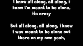 Kid Cudi All Along Lyrics Video
