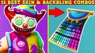MY 15 FAVORITE SKIN & BACKBLING COMBOS In FORTNITE! (You Must Use These!)