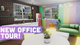 MY NEW OFFICE TOUR! - House Flipper Ep10