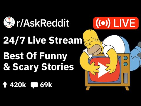 🔴 AskReddit Reddit Stories – 24/7 Live Stream – Funny & Scary Stories to relax/study to