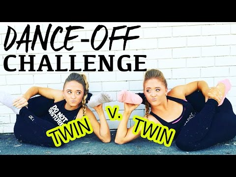DANCE OFF CHALLENGE: Twin v. Twin | Teagan and Sam