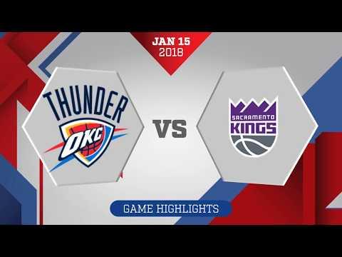 Sacramento Kings vs Oklahoma City Thunder: January