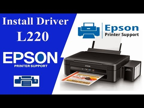 Epson l220 driver | How To Install Driver