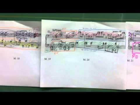 Arnold Schoenberg - Piano Piece Op. 33a Analysis