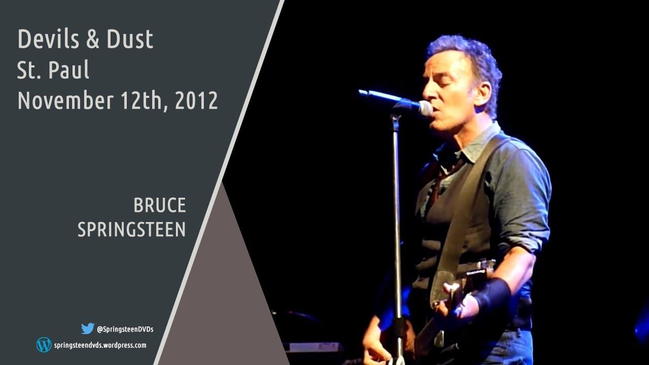 Download Bruce Springsteen | Devils & Dust - St. Paul - 12/11/2012 (Multicam/Dubbed)