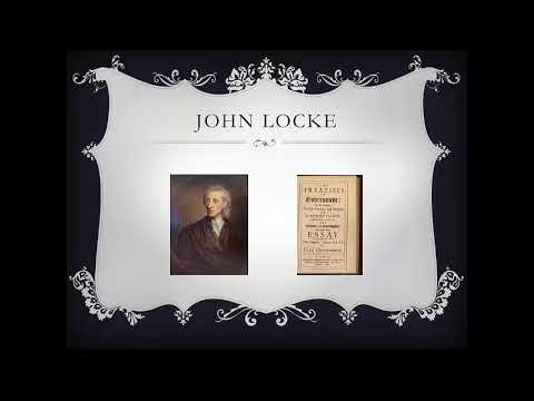Social Studies American Government British Philosophers Influence CG2b Content Video
