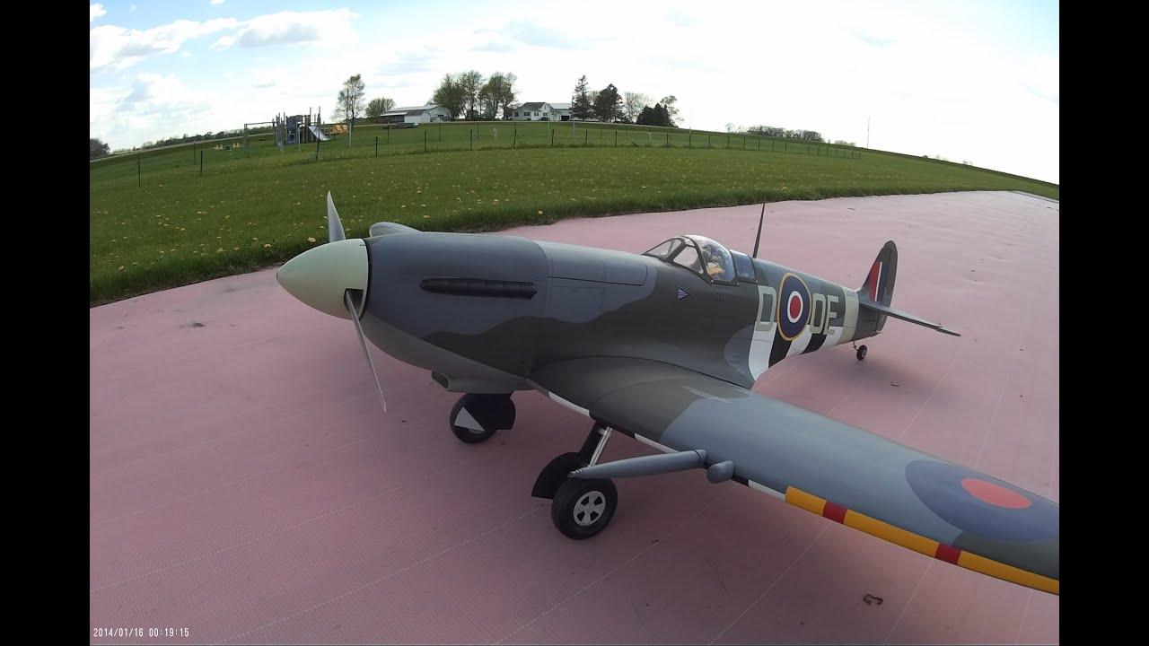 Hangar 9 spitfire 30cc manualidades