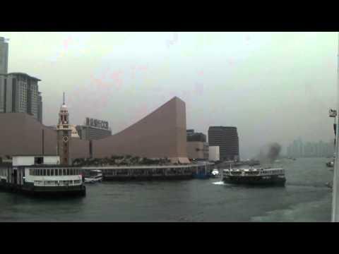 HK ferry Twinkling Star near collision