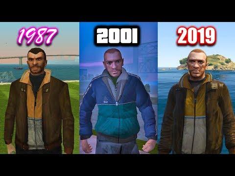 Niko Bellic In EVERY GTA Game (Evolution Of Niko Bellic)