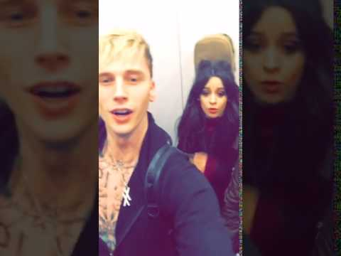 CAMILA CABELLO ON MGK'S SNAPCHAT STORY - December...