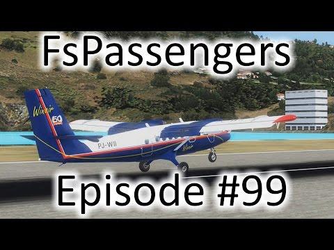 FSX | FsPassengers - Ep. #99 - St. Croix to St. Thomas | DHC-6-300