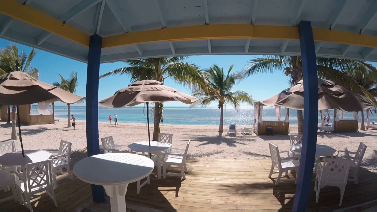 Coco Cay Ocean View Deluxe Cabana And Beach Bed