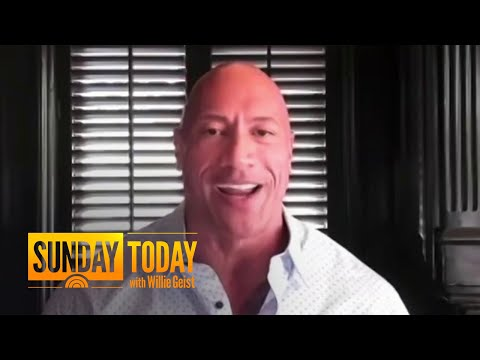Dwayne 'The Rock' Johnson Endorses Joe Biden In New Video: Get A First Look | Sunday TODAY