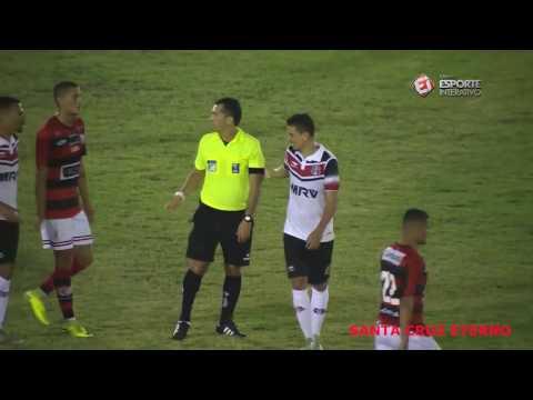 Melhores Momentos - Campinense 1x1 Santa Cruz - Copa do Nordeste 25/01/2017