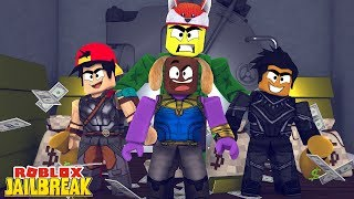 Roblox - INFINITY WARS IN JAILBREAK - THANOS TAKEOVER