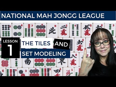 National Mah Jongg League Lesson The Tiles And Set Ing V2