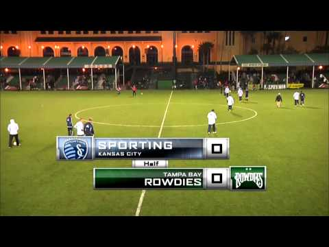 Disney Pro Soccer Classic: Tampa Bay Rowdies vs Sporting KC - LIVE