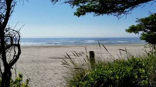 Beachside state park campgrounds review oregon
