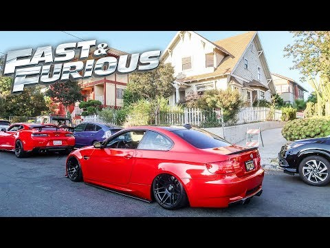 Taking My BMW M3 To The FAST & FURIOUS HOUSE In LA!!!