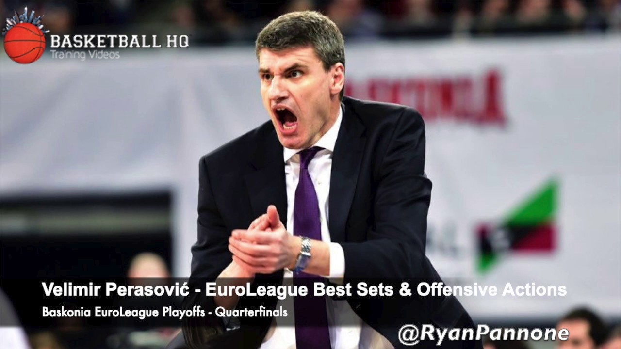 Velimir Perasović Best Sets & Plays Baskonia 2019 Euroleague Quarterfinals