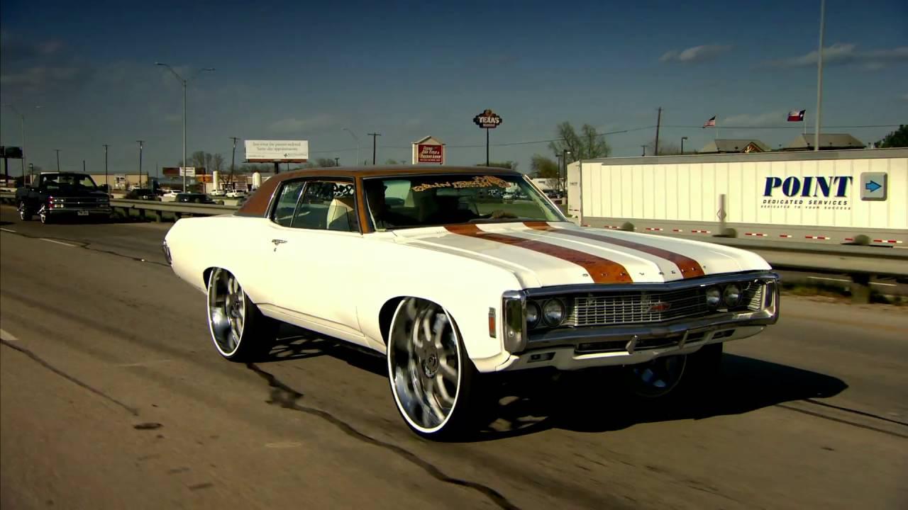 donk car chevy impala 1969 forgiato texas