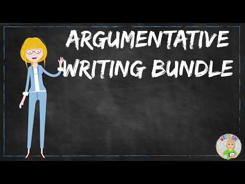 how to write an argumentative essay middle school