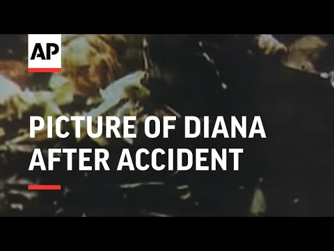 France - Picture of Diana after accident