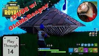 Où est la Grenade Impulse ? Duos w/ OldMcReaper - France BATTLE PASS Grind 14 - France Fortnite: Bataille Royale