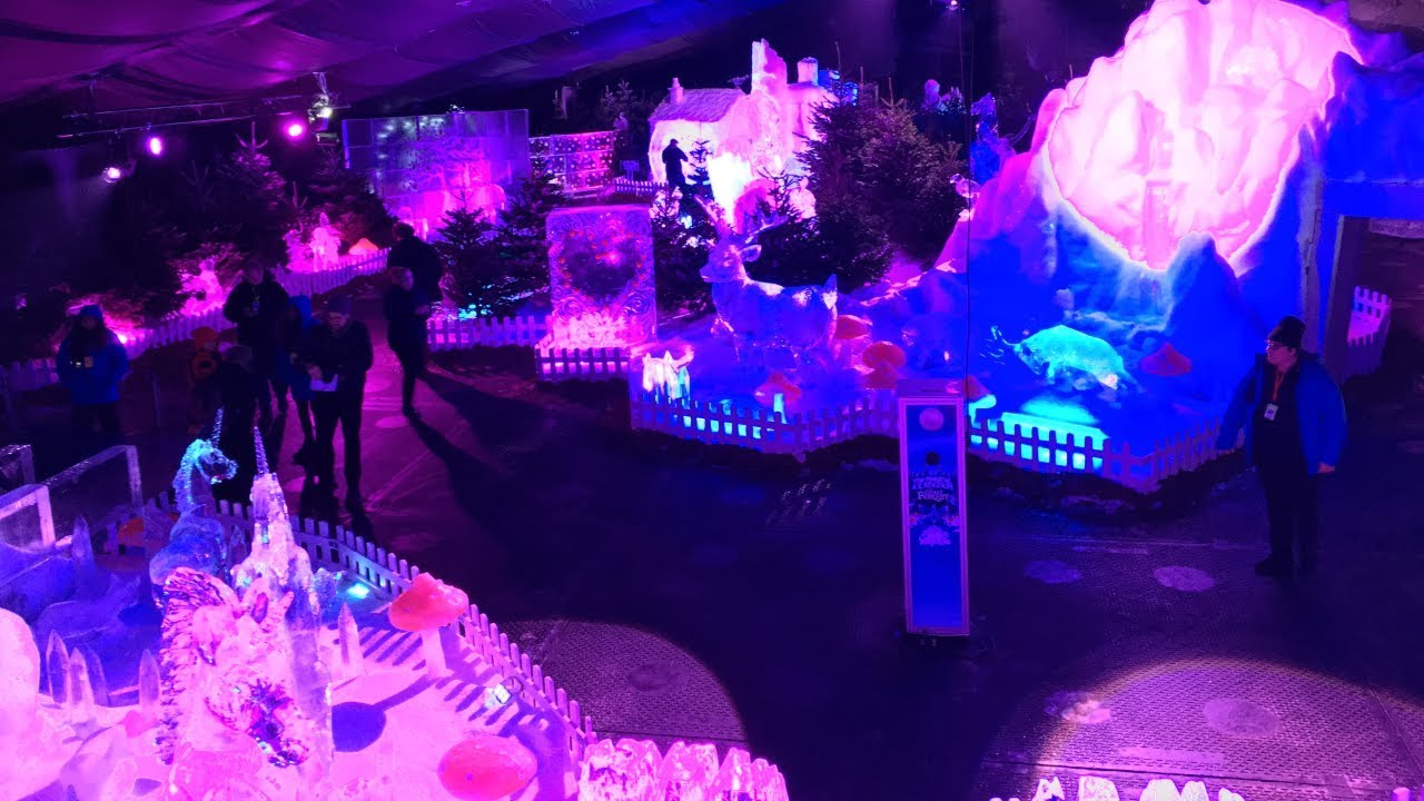 Magic ice kingdom
