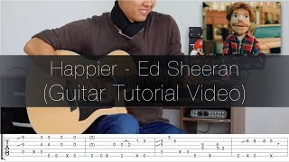 Baixar (Ed Sheeran) Happier - Fingerstyle Guitar Lesson (FREE TABS Tutorial) - Rodrigo Yukio