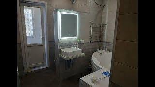 Bir hammom Renovating / 9-etazhka 135 b WC ketma-ket 10 m2 dizayn G'oyalar chiqdi
